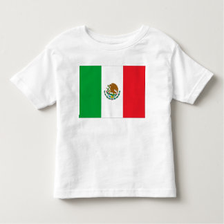 Mexican Flag Mexico Flag Kids Toddler T-shirt