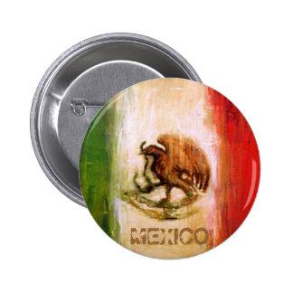 MEXICAN FLAG - MEXICO STYLE BUTTON