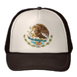 MEXICAN FLAG - MEXICO STYLE - COAT OF ARMS HATS