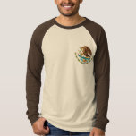 MEXICAN FLAG - MEXICO STYLE - COAT OF ARMS T-SHIRT