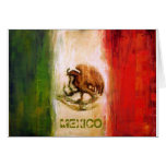 MEXICAN FLAG - MEXICO STYLE GREETING CARDS