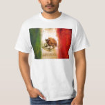 MEXICAN FLAG - MEXICO STYLE T SHIRT