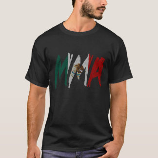 Mexican Flag MMA T-Shirt