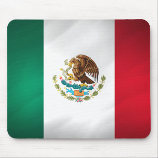 Mexican Flag Mouse Pad