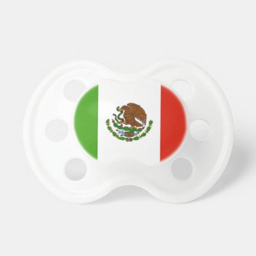 Mexican Flag Pacifier