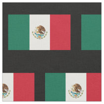 Mexican flag pattern custom fabric DIY textile