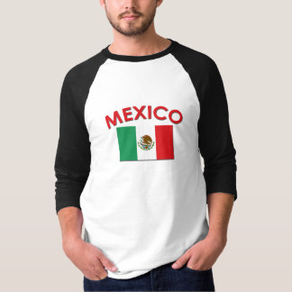 Mexican Flag (Red) T-Shirt