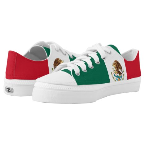Mexican flag shoes
