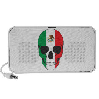 Mexican Flag Skull Mp3 Speakers