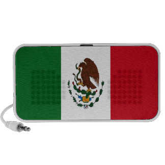 Mexican flag travel speakers