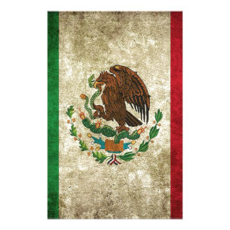 Mexican Flag Stationery