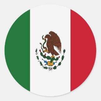 Mexican flag sticker