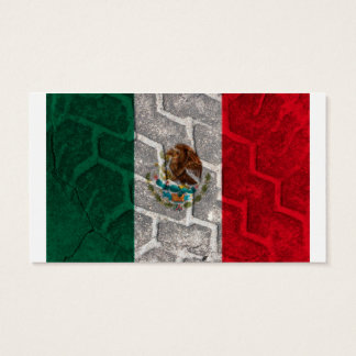 Mexican Flag tire tread Business Card