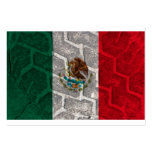 Mexican Flag tire tread Business Cards