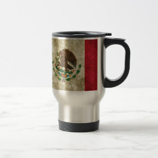 Mexican Flag Travel Mug