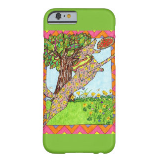 Mexican Folk Art Dog Playing Frisbee Barely There iPhone 6 Case