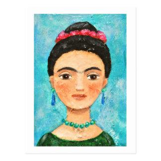 Mexican Folk Art Painting Postcard Art Postcard
