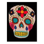 Mexican Folk Art Sugar Skull Post Cards