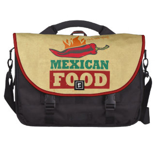 Mexican Food Computer Bag