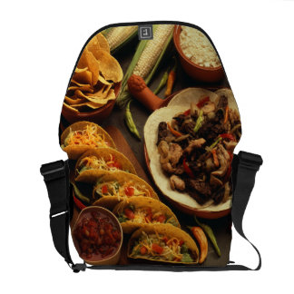 Mexican Food Courier Bag