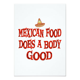 Mexican Food Does Good Card