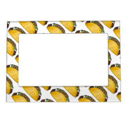 Mexican Food Foodie Taco Tacos Print Photo Frame