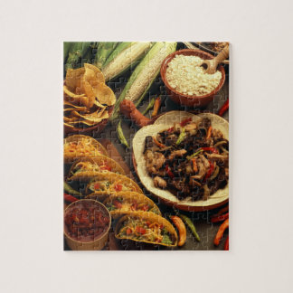 Mexican Food Jigsaw Puzzle