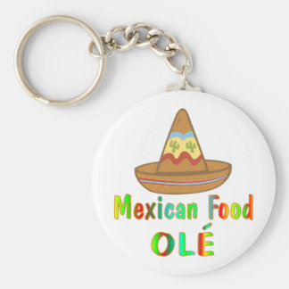 Mexican Food Keychains