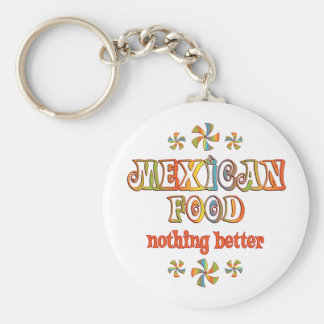 Mexican Food Nothing Better Key Chain