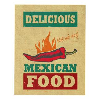 Mexican Food Panel Wall Art
