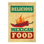 Mexican Food Photo Print