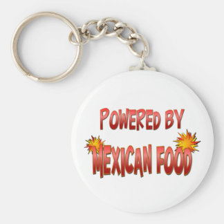 Mexican Food Power Key Chain