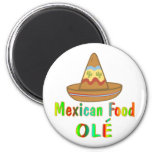 Mexican Food Refrigerator Magnet