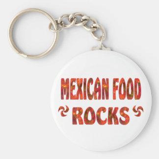 MEXICAN FOOD ROCKS KEY CHAINS