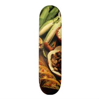 Mexican Food Custom Skateboard