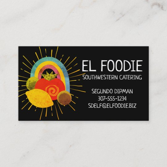 Mexican food southwest chef catering business card zazzle mexican food southwest chef catering business card reheart Gallery