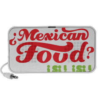 MEXICAN FOOD MP3 SPEAKER