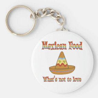 Mexican Food to Love Key Chain