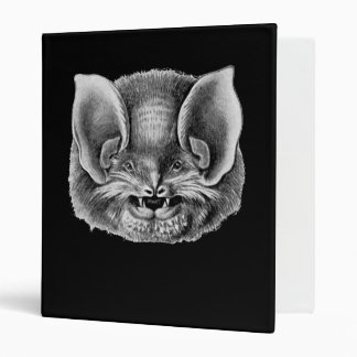 Mexican Funnel-eared Bat 3 Ring Binder
