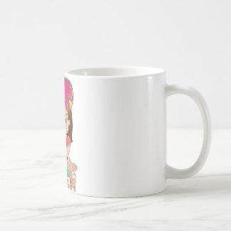 Mexican Girl and Dog Classic White Coffee Mug