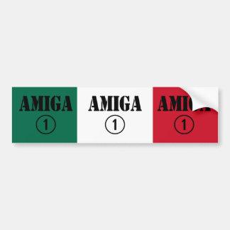 Mexican Girl Friends : Amiga Numero Uno Car Bumper Sticker