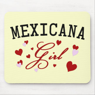 Mexican Girl Mouse Pad