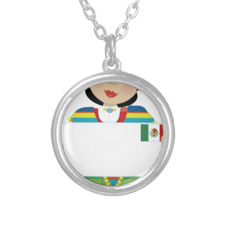 Mexican Girl Sign Jewelry
