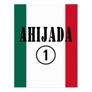 Mexican Goddaughters Ahijada Numero Uno Postcards