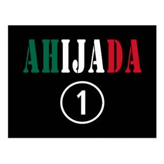 Mexican Goddaughters Ahijada Numero Uno Post Card