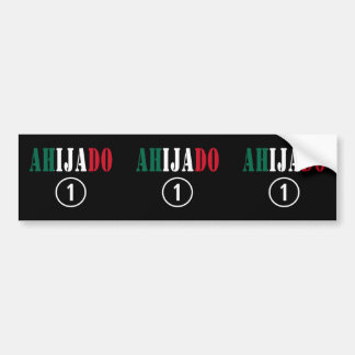 Mexican Godsons : Ahijado Numero Uno Car Bumper Sticker