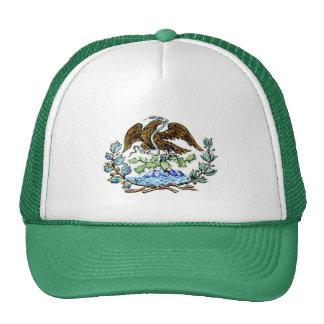 Mexican golden eagle trucker hat