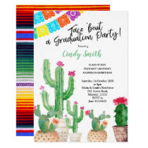 Mexican Graduation Party Invitation Fiesta