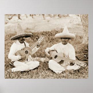 Mexican Guitar Duet 1911 Poster