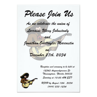 mexican guitar player brown.png personalized invitation
